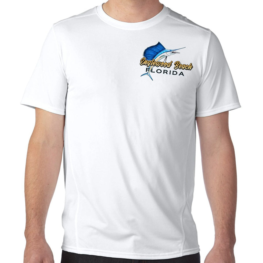 Englewood Beach, FL Sailfish Performance Tech T-Shirt