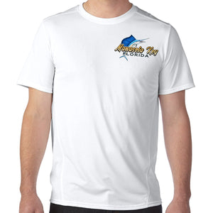 Manasota Key, FL Sailfish Performance Tech T-Shirt