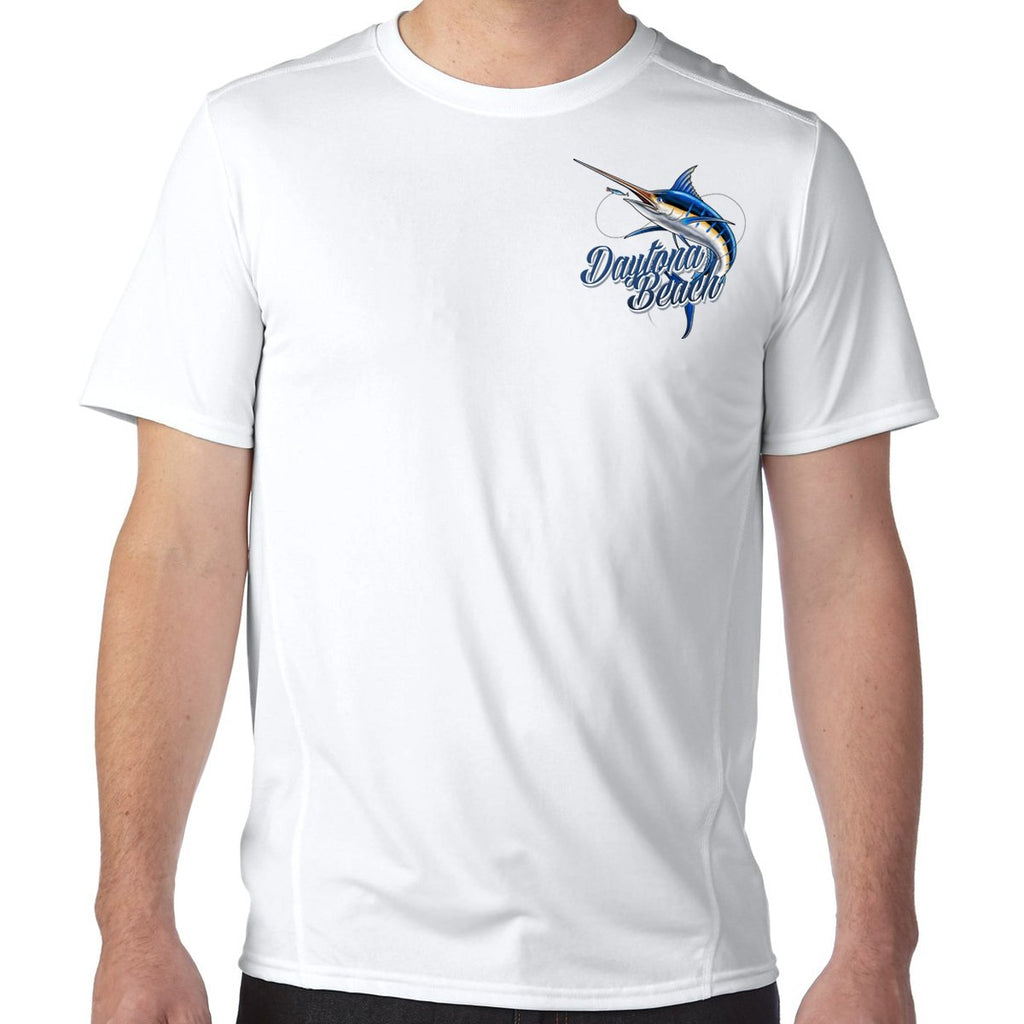 Daytona Beach, FL Marlin Performance Tech T-Shirt