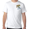 Naples, FL Work Sucks, Let's Go Fishing Performance Tech T-Shirt