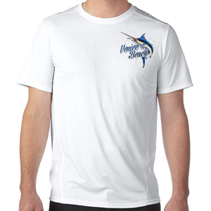Venice Beach, FL Marlin Performance Tech T-Shirt