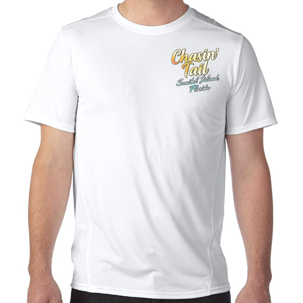 Sanibel Island, FL Chasin' Tail Performance Tech T-Shirt