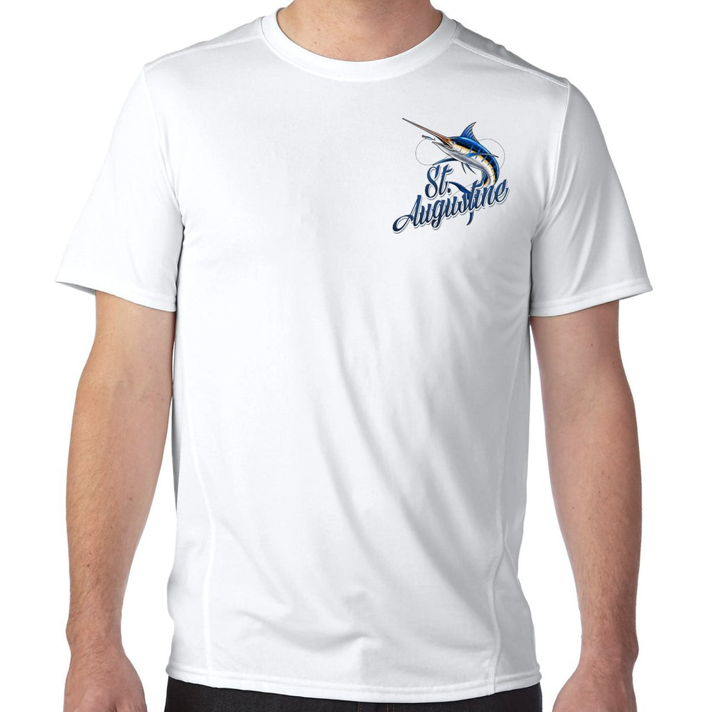 St. Augustine, FL Marlin Performance Tech T-Shirt