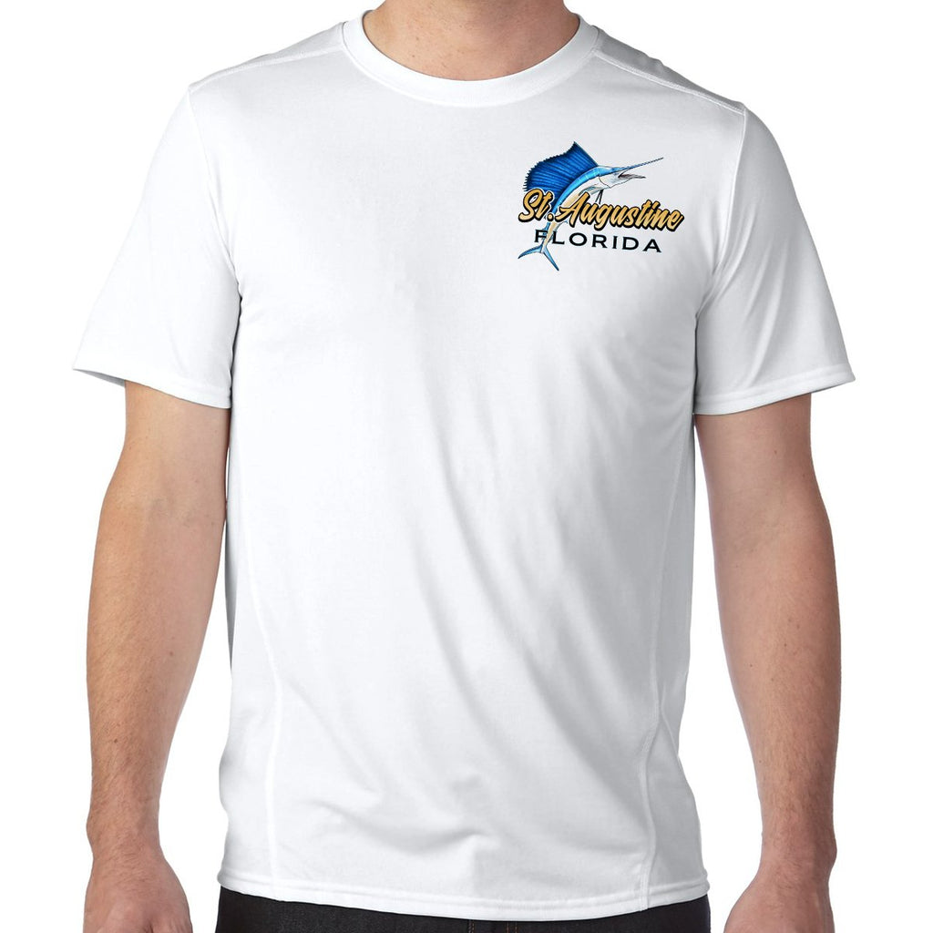 St. Augustine, FL Sailfish Performance Tech T-Shirt