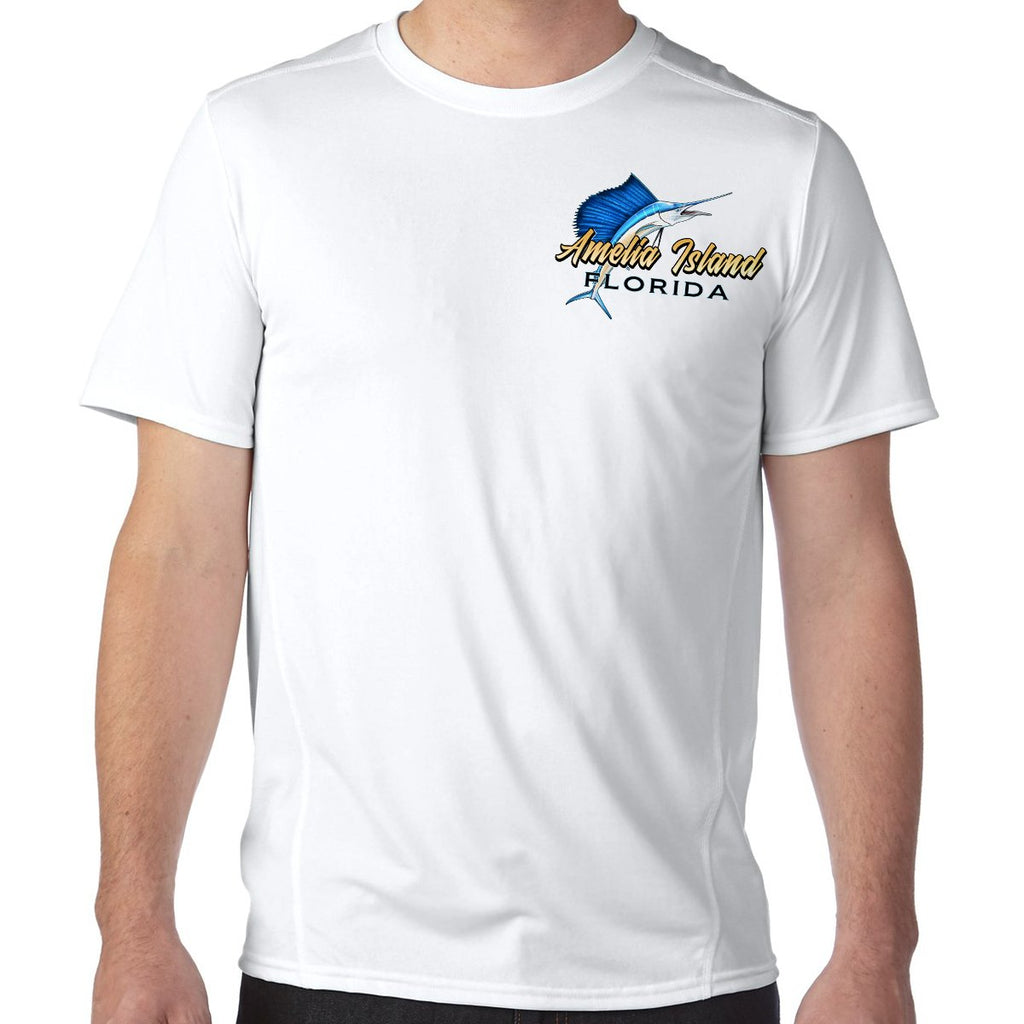 Amelia Island, FL Sailfish Performance Tech T-Shirt