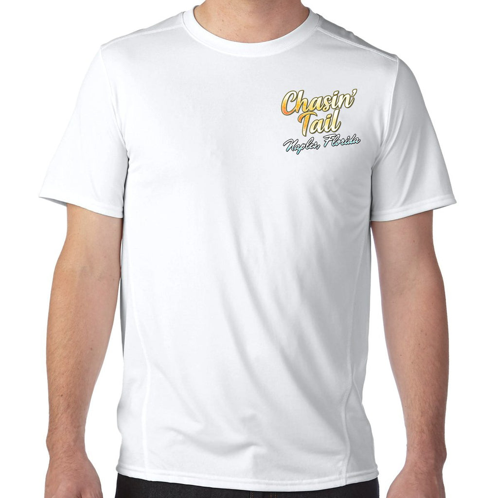 Naples, FL Chasin' Tail Performance Tech T-Shirt