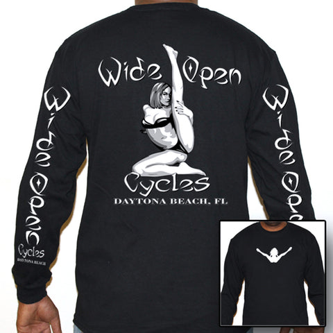 Wide Open Cycles Leg-up Long Sleeve