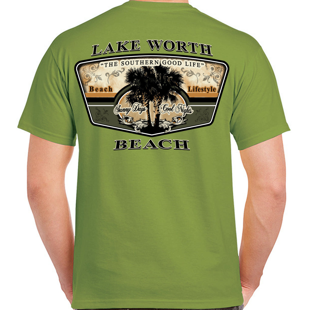Lake Worth Beach, FL Beach Lifestyle T-Shirt