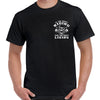 Riding is Living Piston Skull T-Shirt