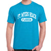 Fort Myers Beach, FL Athletic Print T-Shirt