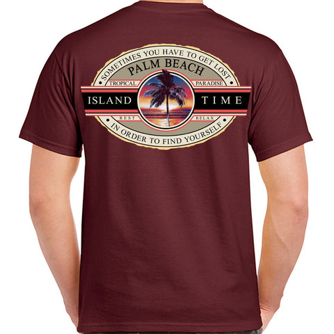 Palm Beach, FL Island Time T-Shirt