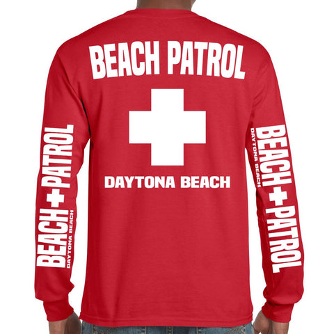 Daytona Beach, FL Beach Patrol Long Sleeve T-Shirt