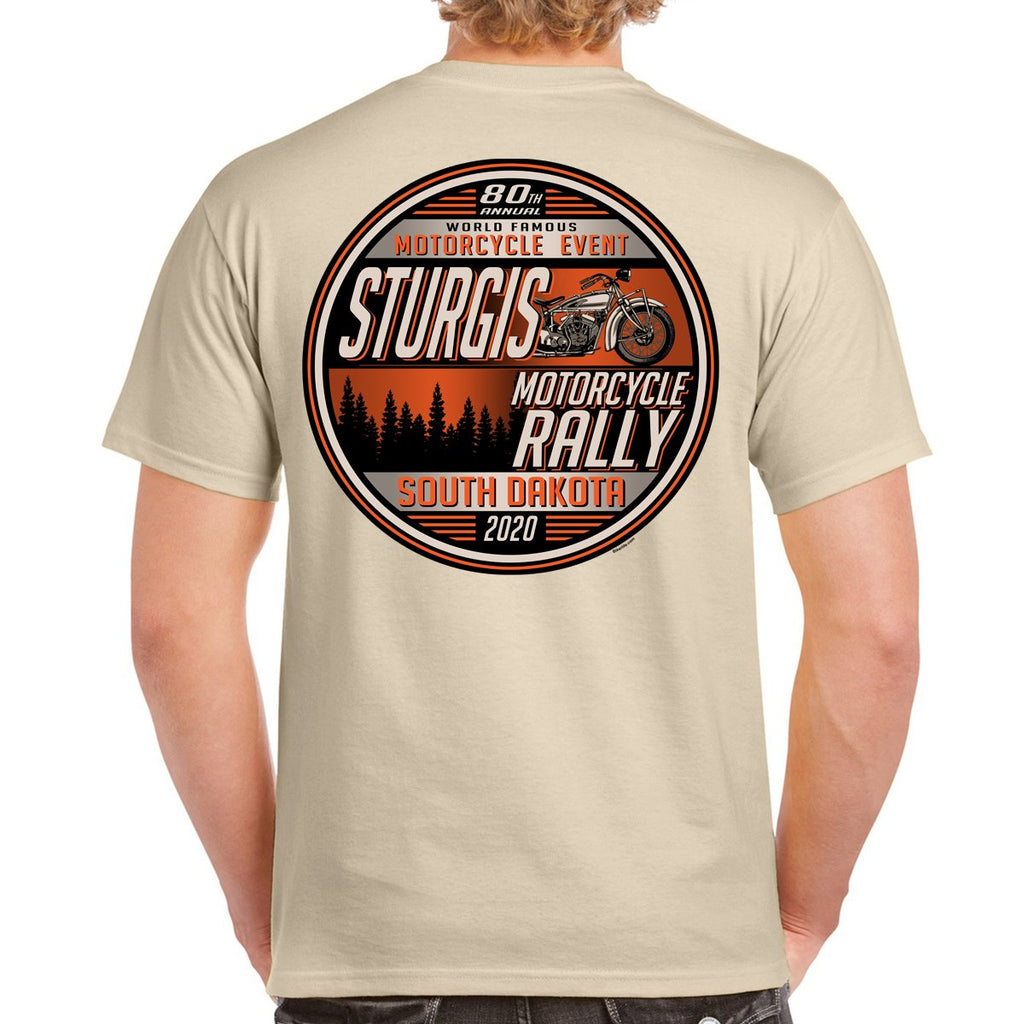 2020 Sturgis Motorcycle Rally Sunset Bike T-Shirt