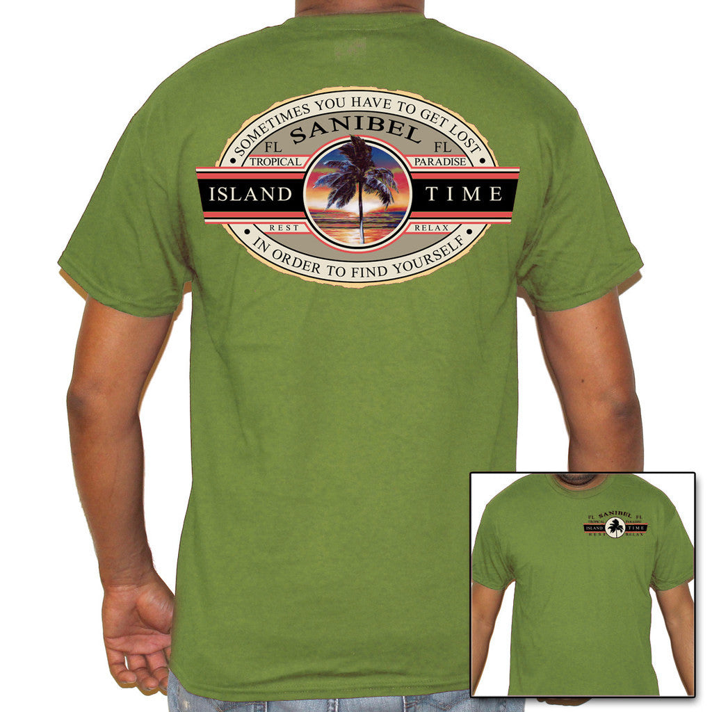 Sanibel Island, FL Island Time T-Shirt