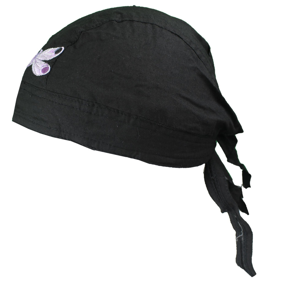 Purple Dragonfly Du-Rag