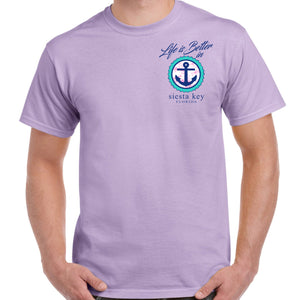 Siesta Key, FL Life is Better in Florida T-Shirt