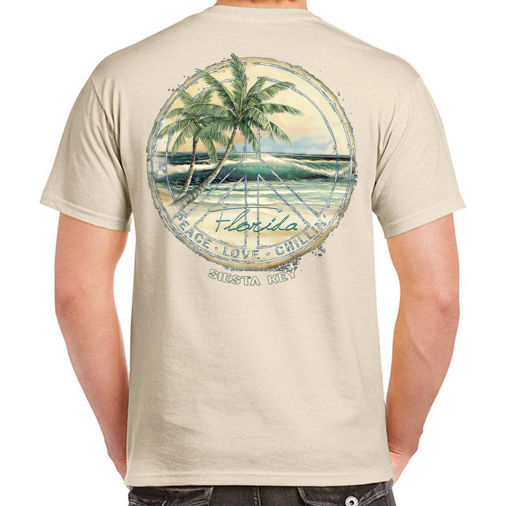 Siesta Key, FL Peace T-Shirt