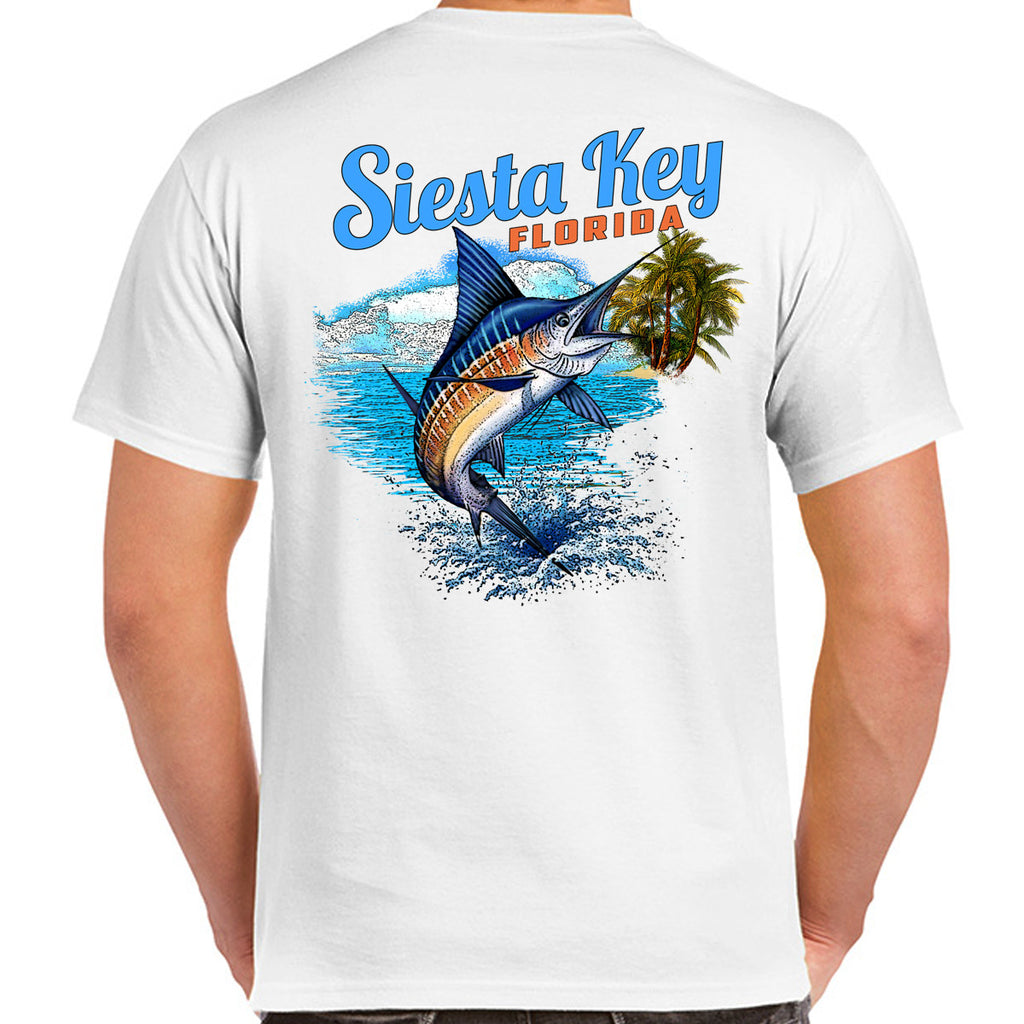 Siesta Key, FL Marlin Splash T-Shirt