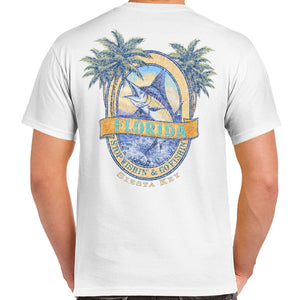 Siesta Key, FL Marlin T-Shirt