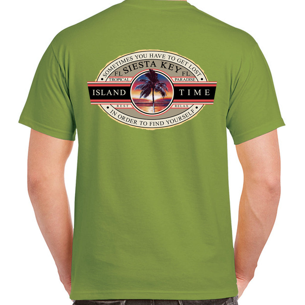Siesta Key, FL Island Time T-Shirt