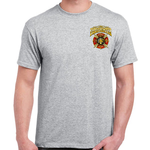 First In Last Out Firefighter T-Shirt