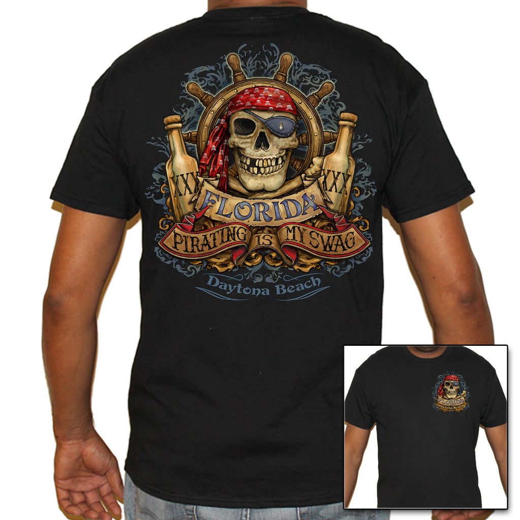 Daytona Beach, FL Pirating Swag T-Shirt