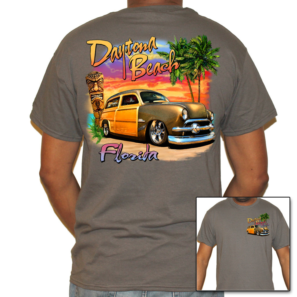 Daytona Beach, FL Woody T-Shirt
