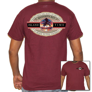 Manasota Beach, FL Island Time T-Shirt