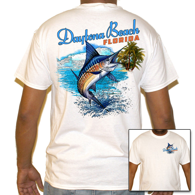 Daytona Beach, FL Marlin Splash T-Shirt