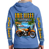 2020 Bike Week Daytona Beach Beach Shield Zip-Up Hoodie