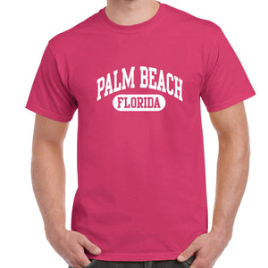 Palm Beach, FL Athletic Print T-Shirt
