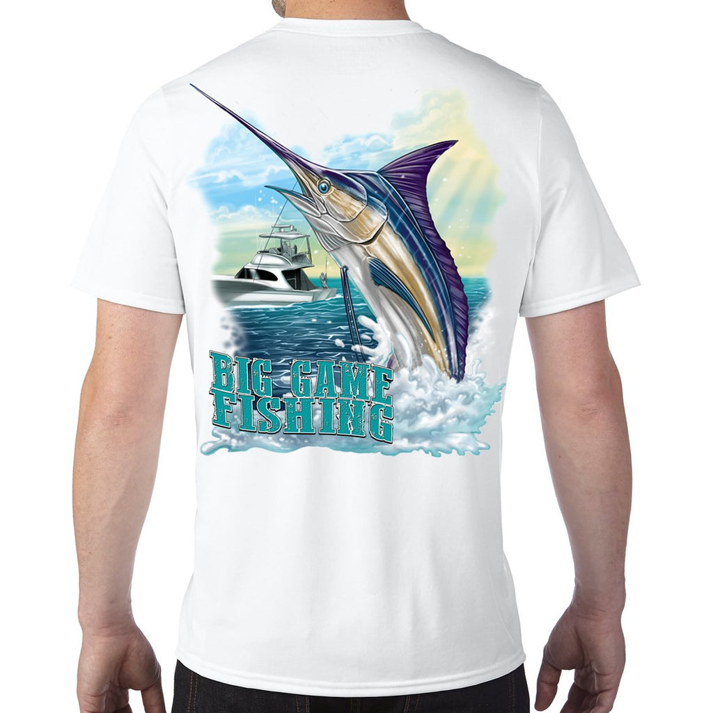 Big Game Fishing Performance Tech T-Shirt