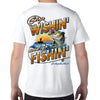 St. Augustine, FL Stop Wishin', Go Fishin' Performance Tech T-Shirt