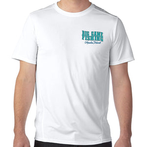 Amelia Island, FL Big Game Fishing Performance Tech T-Shirt