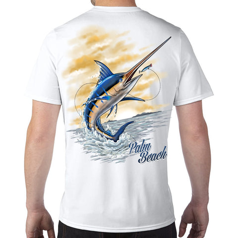 Palm Beach, FL Marlin Performance Tech T-Shirt