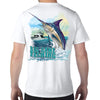 Gulf Shores, AL Big Game Fishing Performance Tech T-Shirt