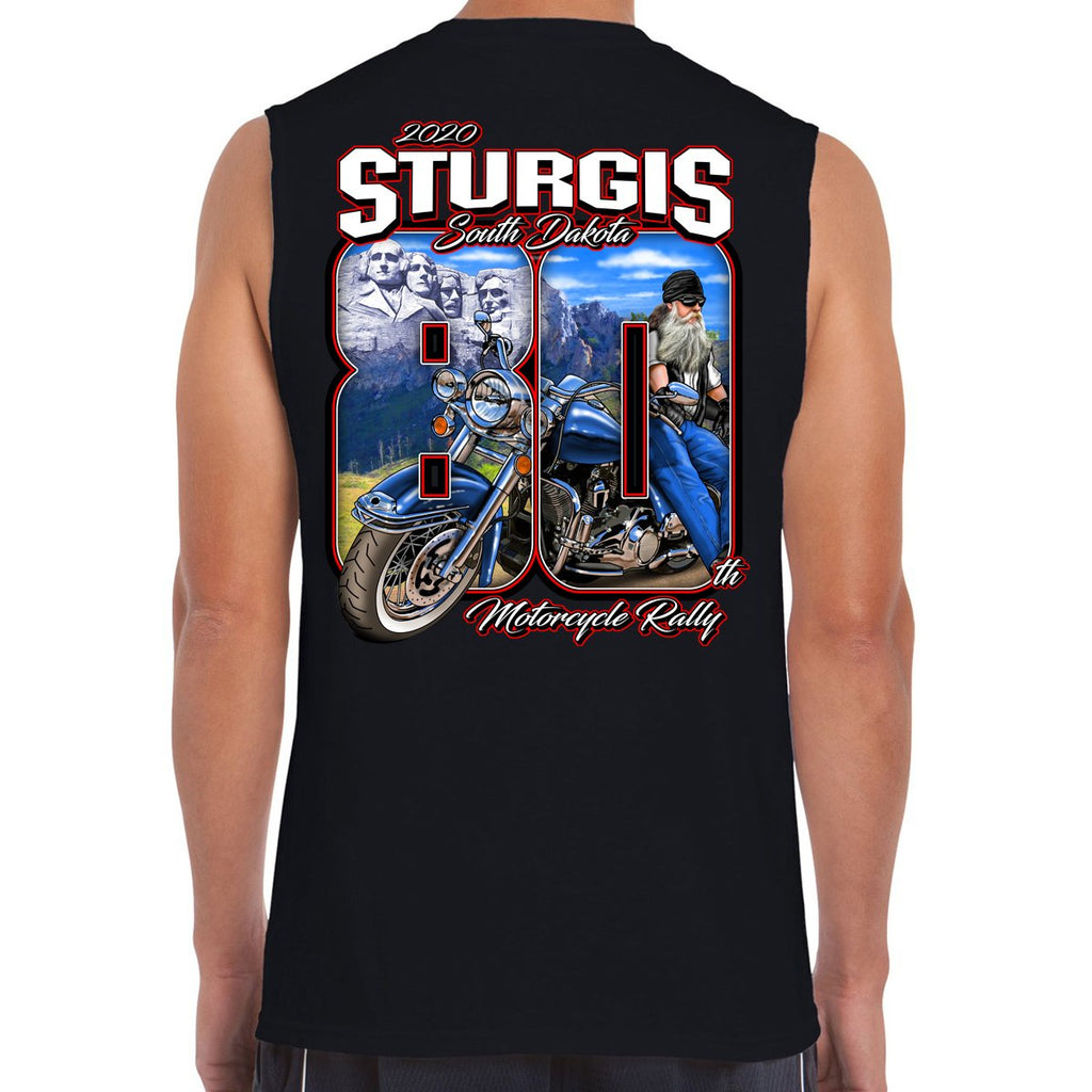 2020 Sturgis Motorcycle Rally 80th Anniversary Muscle Shirt