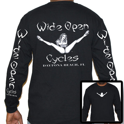 Wide Open Cycles Original Long Sleeve