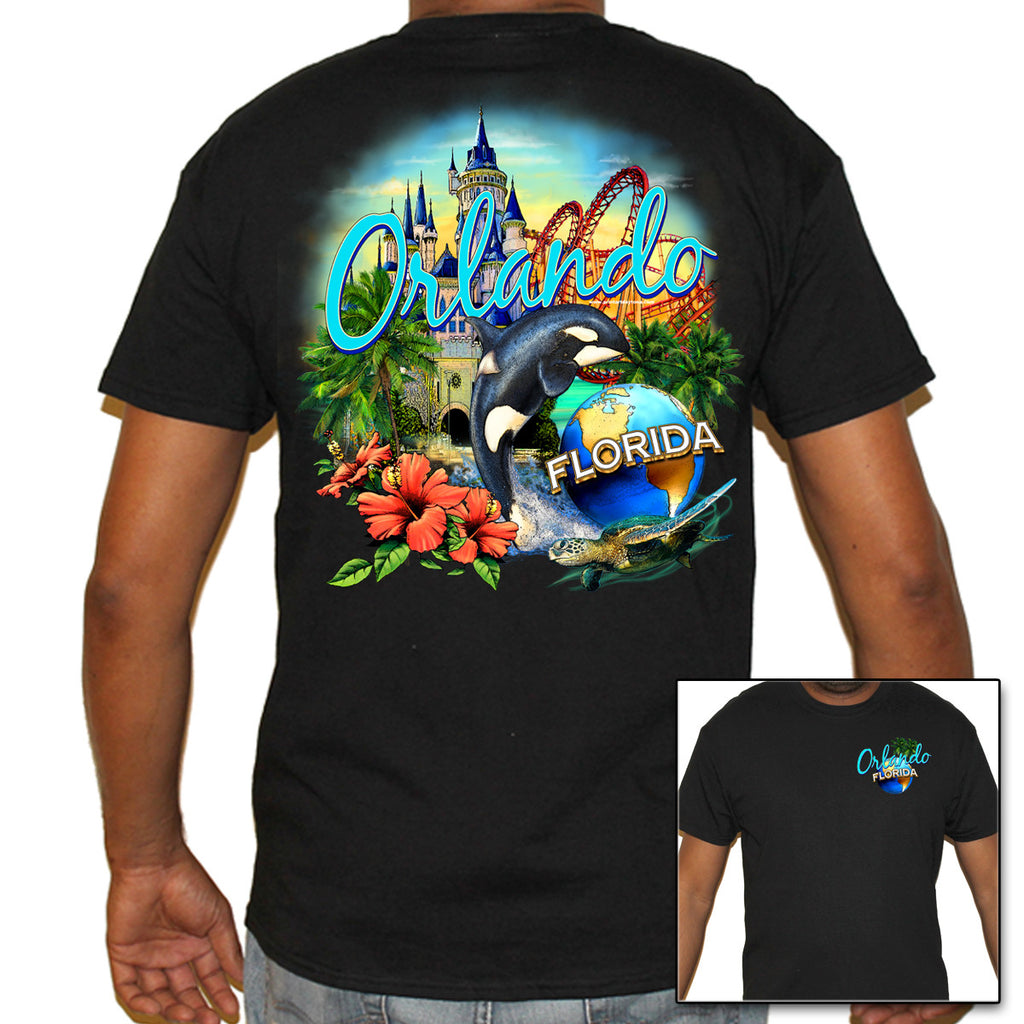 Orlando, FL Collage T-Shirt