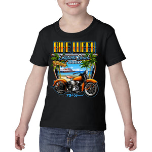 2020 Toddler Bike Week Daytona Beach Beach Shield T-Shirt