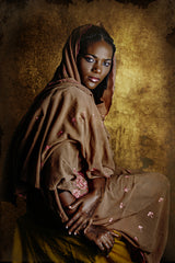 Resilient, Joana Choumali's portrait series of African women in familial garments.