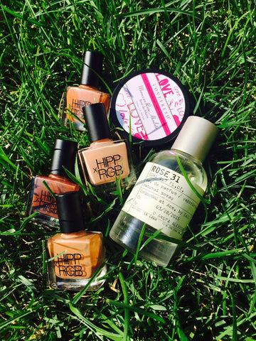 Natural Beauty - RGB Nail Polish, Le Labo Fragrances, Lovefresh Deodorant