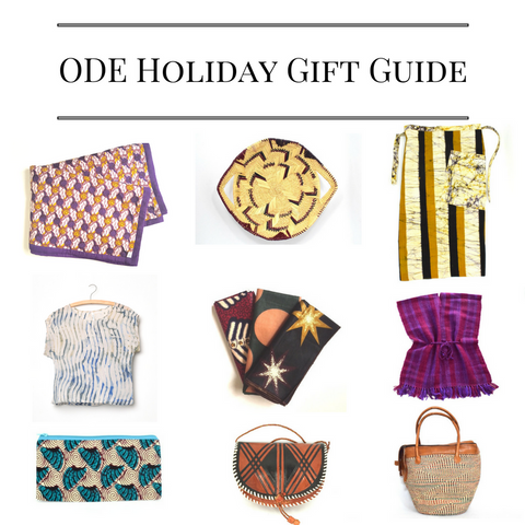 ODE Holiday Gift Guide December 2016
