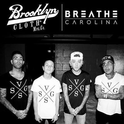 "On the road with Breathe Carolina for their ""Anywhere But Home"" Tour!"