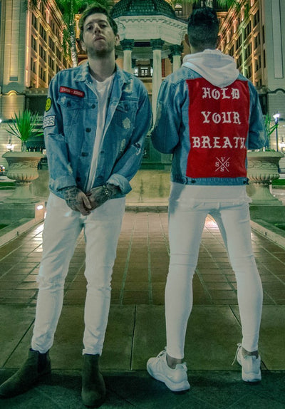 "Out Now: Breathe Carolina ""Hold Your Breath"" Denim Jacket"