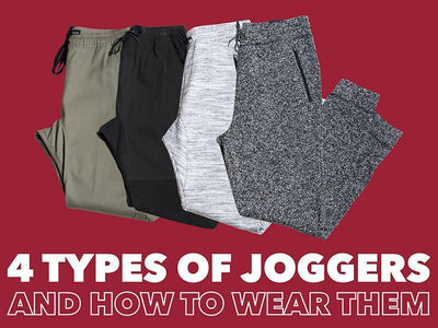4 TYPES OF JOGGERS AND HOW TO WEAR THEM