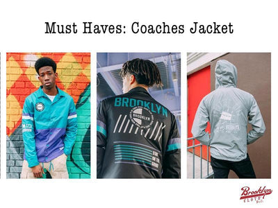 Must Haves: Coaches Jackets