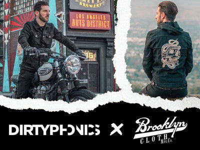 DirtyPhonics Collaboration with Brooklyn Cloth