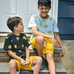 Kid's t-shirts and shorts from Brooklyn Cloth