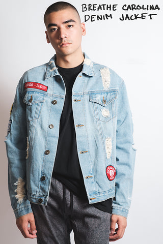 Breathe Carolina SVG Denim Jacket